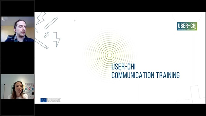 How to best communicate (about USER-CHI)?