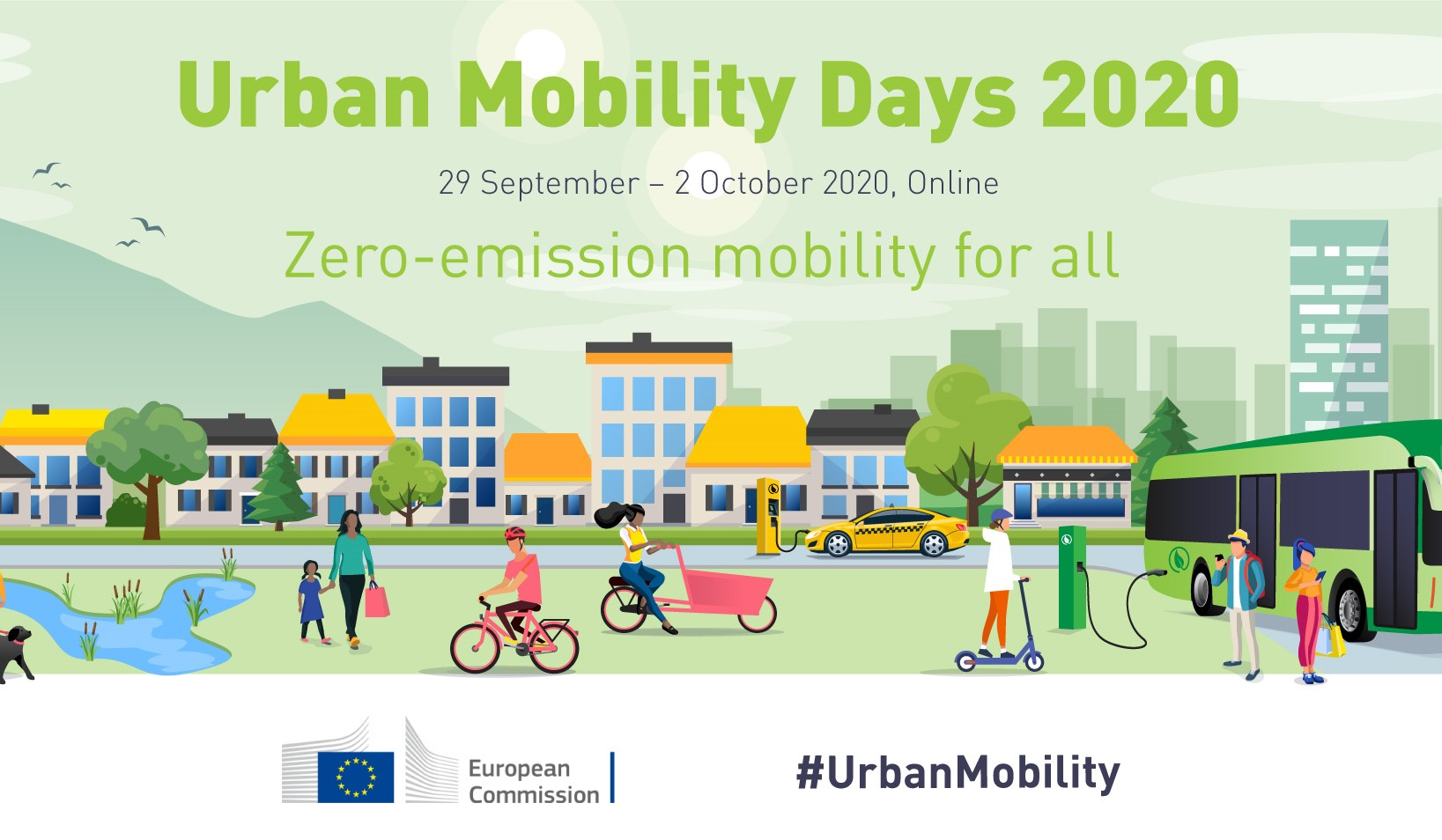 Urban Mobility Days banner