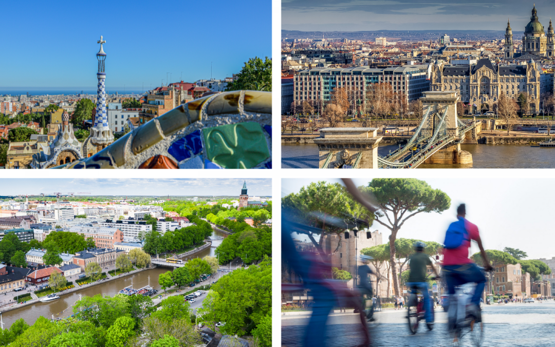Four more USER-CHI cities now open for peer learning programme applications